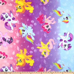 Hasbro My Little Pony Fleece Ombre Toss Purple