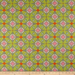 Springs Creative Bohemian Garden Butterfly Wing Taupe Fabric