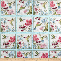 Susan Winget Botanical Buzz Block Multi Fabric