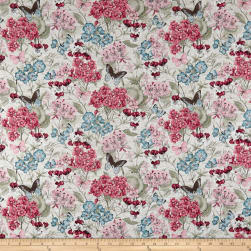 Susan Winget Botanical Buzz Garden Bouquet Multi Fabric