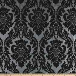 Flocked Velvet Dior Damask Combo Fabric