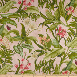 Waverly Wailea Coast Duck Hibiscus Fabric