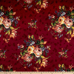 Thibaut Mariposa Red Fabric