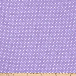 Two Tone Dot Flannel Lavender Fabric