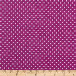 Two Tone Dot Flannel Magenta