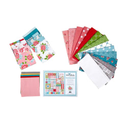 Riley Blake Hello Lovely Friendship Quilt Kit Multi