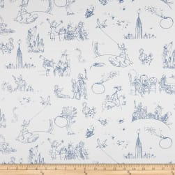James And The Giant Peach Toile White