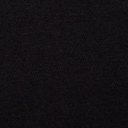 Jersey Knit Solid Black Fabric