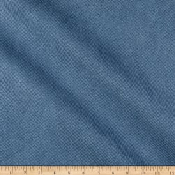 Eroica Twill Patterned Legacy Suede Ink Fabric