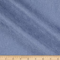 Eroica Twill Patterned Legacy Suede Periwinkle Fabric