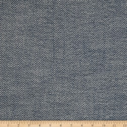Richloom Olan Herringbone Yarn Dyed Woven Pacific Fabric