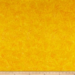 Clothworks Batik Menagerie Butterflies Toss Dark Yellow