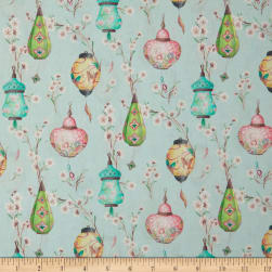 STOF France French Fantaisy Lampion Multicolor Fabric