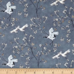 Stof France French Fantaisy Mandchourie Multicolor Fabric