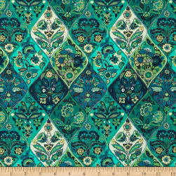 STOF France French Fantaisy Janis Multicolor Fabric