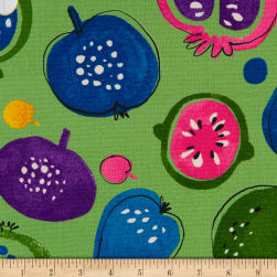 Cosmo Country Table II Canvas Fruit Toss Green