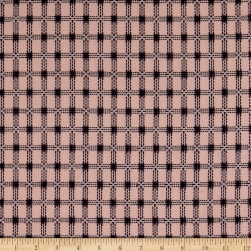 Cotton Poplin Dobby Pink Fabric