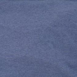 Telio Organic Melange Cotton Jersey Knit Denim Blue