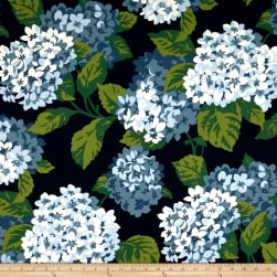 Magnolia Home Fashions Summer Wind Canvas Navy
