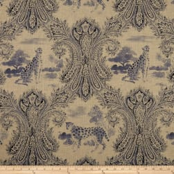 P/Kaufmann Madagascar Linen Blue Moon Fabric