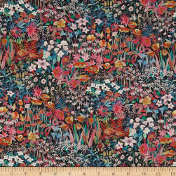 Liberty Fabrics Tana Lawn Faria Flowers Small Black/Multi
