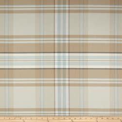 P/Kaufmann Kendal Plaid Haze Fabric