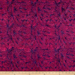 Banyan Batiks Visual Sounds Diamonds Pink/Purple Fabric