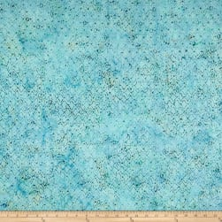 Banyan Batiks Primitive Lines Diamond Lines Blue/Green