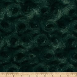 Shannon Minky Luxe Cuddle Rose Evergreen Fabric