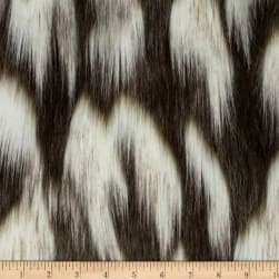 Shannon Lux Fur Tibetan Fox Ivory/Chocolate