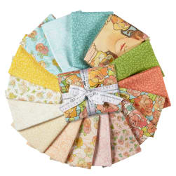 Kaufman Alphonse Mucha Fat Quarter Bundles 16 Pcs