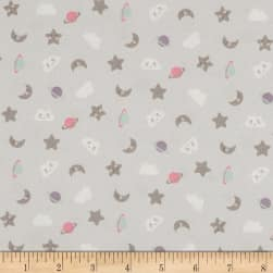 Stof Fabrics Denmark Rocking Horse Allover Moon Clouds