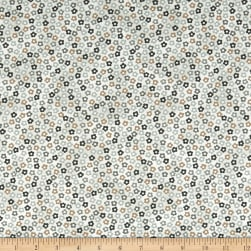 Stof Fabrics Denmark Hannah Basic Tiny Flowers Green