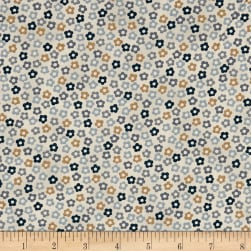 Stof Fabrics Denmark Hannah Basic Tiny Flowers Blue