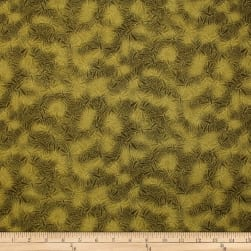 Trans-Pacific Textiles Asian Dragonfly Blender Olive Fabric