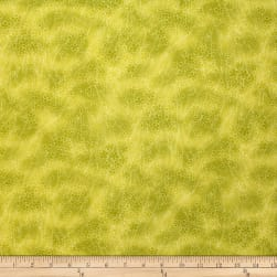 Trans-Pacific Textiles Asian Cherry Blossom Blender Lemon Fabric
