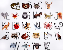 Hoffman Digital Zookeeper Animal Alphabet 37