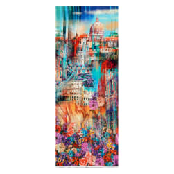 "Hoffman Digital Wanderlust Rome Scenic 35"" Panel Summer"