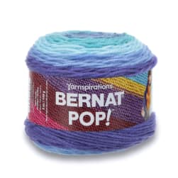 Bernat Pop! Yarn, Blue Blaze