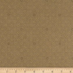 Andover Spots and Dots Dark Khaki