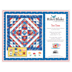 Riley Blake Tea Time Quilt with Laser Cut