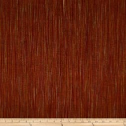 Ombre Ridge Vertical Ikat Wine/Gold Fabric