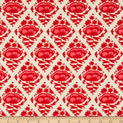 Art Gallery Sun Kissed Floral Pops Cherry Fabric