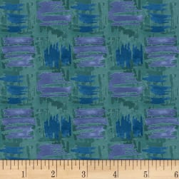 Blank Quilting Tessellations Abstract Squares Dark Teal
