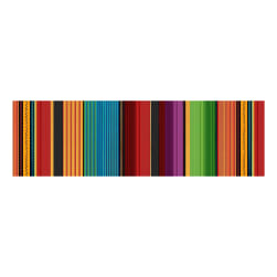 Fiesta Serape Stripe Green Multi