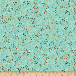 QT Fabrics Santoro Poppi Loves Reading Together Leaf