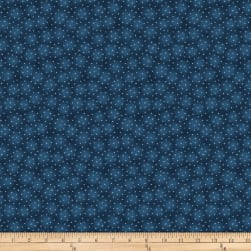 Blank Quilting Starlet Mini Star With Texture Cobalt