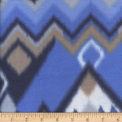Fleece Print Arizona Blue