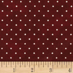 Maywood Studio Beautiful Basics Classic Dot Deep Red