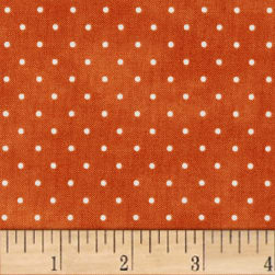 Maywood Studio Beautiful Basics Classic Dot Spice Fabric